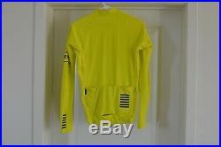Rapha Pro Team Long Sleeve Thermal Jersey Men's Medium Yellow