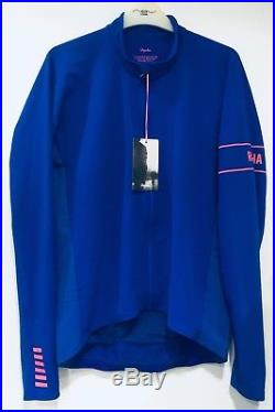 Rapha Pro Team Long Sleeve Thermal Jersey Ultramarine XL BNWT 955141bf8