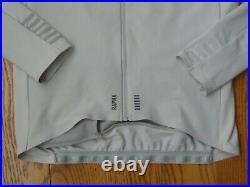 Rapha Pro Team Long Sleeve Thermal Winter Jersey Gray Grey