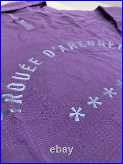 Rapha Pro Team Thermal Base Layer Long Sleeve Dark Purple Large New With Tag