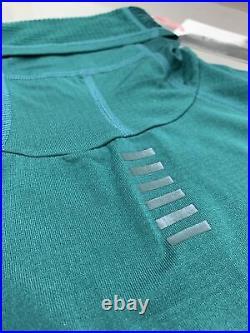 Rapha Pro Team Thermal Base Layer Long Sleeve Green Dark Green Large New Tag