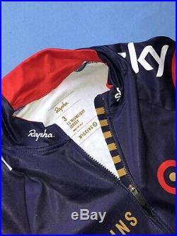Rapha Pro Team Wiggins Long Sleeve Jersey Medium Rider Issue