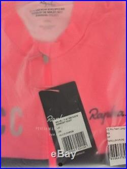 Rapha RCC PRO TEAM Long Sleeve Midweight Jersey Hi-Viz Pink BNWT Size L