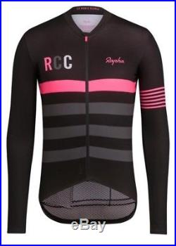 Rapha RCC PRO TEAM Midweight Long Sleeve Jersey BNWT Size XL