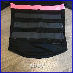 Rapha RCC Pro Team Long Sleeve Cycling Jersey Black & Pink Mens Size M Medium