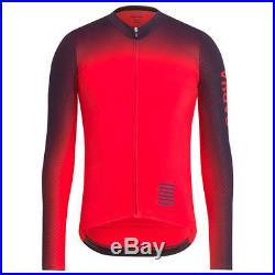 Rapha Red Pro Team Long Sleeve Aero Jersey Colourburn. Size Medium. BNWT