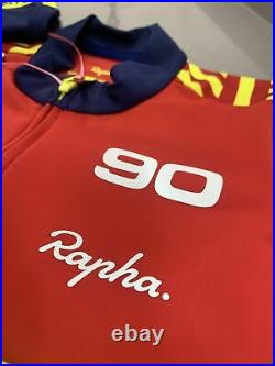 Rapha Sonic Long Sleeve Thermal Jersey With Headband Medium Brand New With Tag