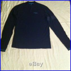 Rapha Team Sky Issue Long Sleeve Merino Wool Cycling Jersey Sz Large EUC