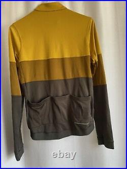 Rapha Tricolour Long Sleeve Jersey Full Zip EUC (B-SH3)