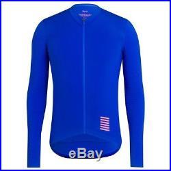 Rapha Ultra Marine Blue Pro Team Long Sleeve Aero Jersey. Size Small. BNWT