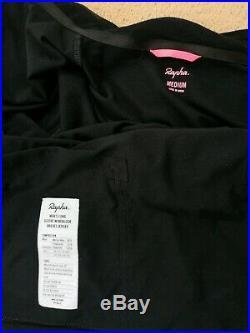 Rapha Windblock Long Sleeve Brevet Jersey In Black Size Medium