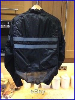 Rapha Windbreaker Mens Brevet Insulated Jacket Size Large Long Sleeve Rrp £150