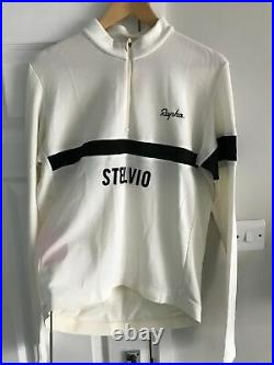 Rapha merino long sleeve classic stelvio climbs jersey cycling new witho tags xl