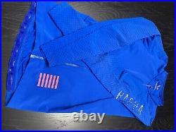 Rapha pro team Aero Long Sleeve jersey Mens Medium Hot Blue