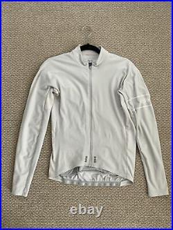 Rapha pro team long sleeve thermal jersey grey medium
