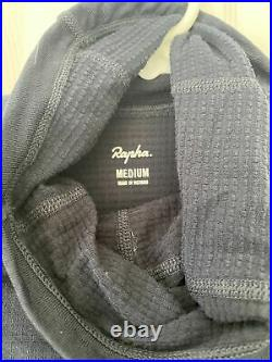 Rapha pro team thermal long sleeve cycling base layer dark navy A+++ Shape! Med