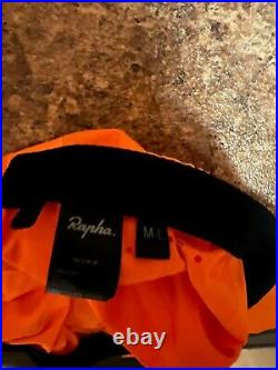 Rapha pro team training jersey long sleeve (Large) and cycling cap (M/L)