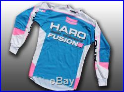 Rare 1985-87 Vintage Old-School Haro BMX Long-Sleeve Jersey Freestyle Cycling, M