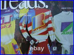 Robinson Old School BMX Bike, Long-Sleeve Jersey Freestyle Cycling, AS