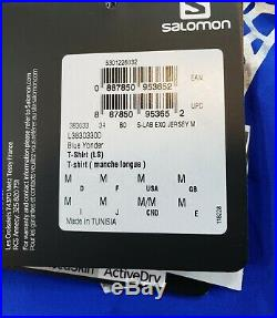 Salomon S-Lab Exo Long Sleeve Cycling Jersey Men's Medium MSRP $250