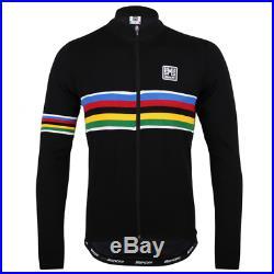 Santini UCI Long Sleeve Wool Jersey