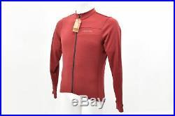 Specialized Men's RBX Merino Long Sleeve Jersey Medium Crimson Brand New
