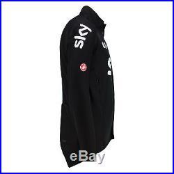 Team Sky Perfetto Long Sleeve Jersey Shirt Black Mens Cycling Tour de France