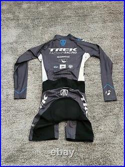 Trek Factory Racing Long-Sleeve Skinsuit Shimano Fox Sz L