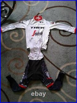 Trek Segafredo Zanetti Cycling Jersey Set XXL Long Sleeve Zip/pants U