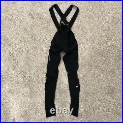 VELOCIO Men's Size Small Black Luxe Bib Tight Cycling Long Pants