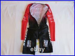VELOTEC VITUS Cycling Speedsuit Long Sleeve One Gel Pocket Size M New (20)