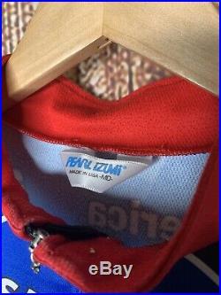 VTG Pearl Izumi Team USPS Postal service Trek Liberty Jersey Medium Long Sleeve
