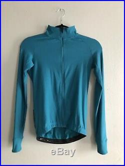 Velocio Mens Signature long sleeve jersey (Blue) XS