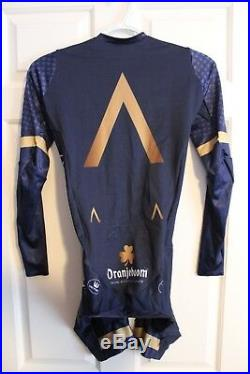 Vermarc / Aqua Blue Aero Skinsuit LS Long Sleeve / S / Small / 2018