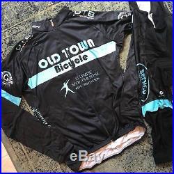 Voler Team Cycling Kit XL Bib Knickers & XL Geo Thermal Long Sleeve Jersey New