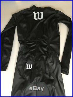 Wattie Ink Mens Long Sleeve Tri Triathlon Speed Suit Medium M (6943)