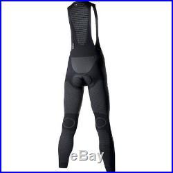 X-Bionic Biking Man Windskin OW Bib Long Elite Pad Trägerhose Radlerhose schwarz